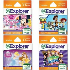 LeapFrog-Educational-Reading-Learning-Game-Cartridge-Leapster-LeapPad-Kids-Toy