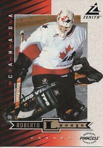 1997 98 Zenith Roberto Luongo 5 X 7 Rookie Card Ebay