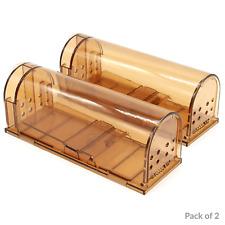 Humane Mouse Trap | No Kill Rodent Catch Cage | Pet & Child Safe | M&W