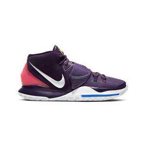 Nike-Men-039-s-Kyrie-6-Grand-Purple-Enlightenment-Basketball-Shoes-BQ4630-500-NEW
