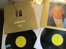 Beethoven Symphonies 5 & 9 2Lp Box Set BP Karajan DG  413 933-1 Germany 1984