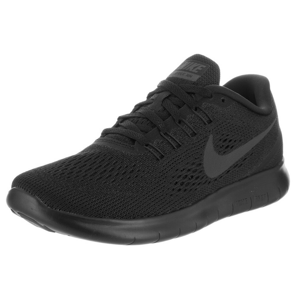 Nike Free RN Black Black Anthracite Womens Running shoes