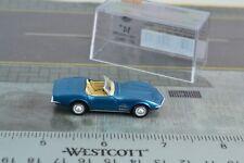 Brekina Chevrolet Corvette c3 cabrio naranja con portaequipajes 1:87 #19974