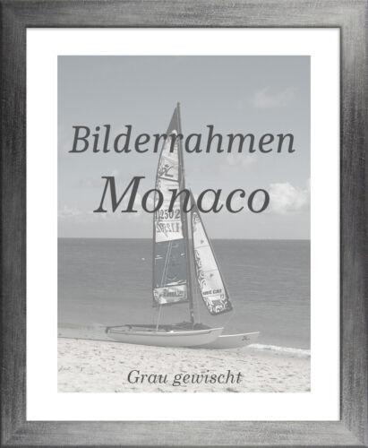 Bilderrahmen Monaco 20x55 cm Foto Poster Puzzle Galerie 55x20 cm