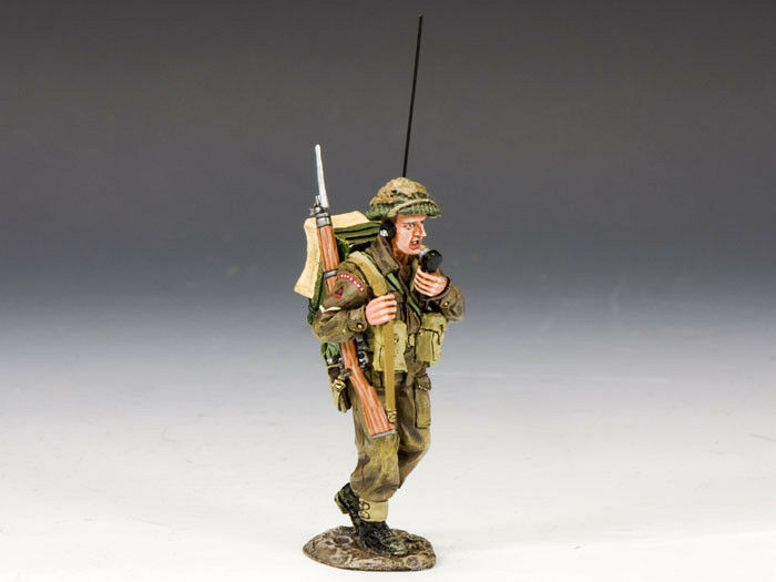 KING AND COUNTRY WW2 British Radio Operator D Day DD171