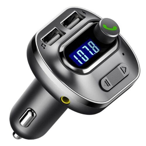 VICTSING Car HandsFree Wireless In-Car Bluetooth FM Transmitter Radio Adapter US