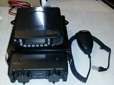 Kenwood TK-790h VHF FM Transceiver, TK-8180 Transceiver, and KMC-35 MIC