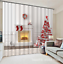 3D Fireplace 63 Blockout Photo Curtain Printing Curtains Drapes Fabric Window AU