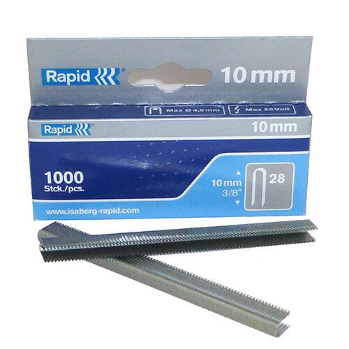 Rapid 10mm R28 and 14mm R36 Kabel Klammern