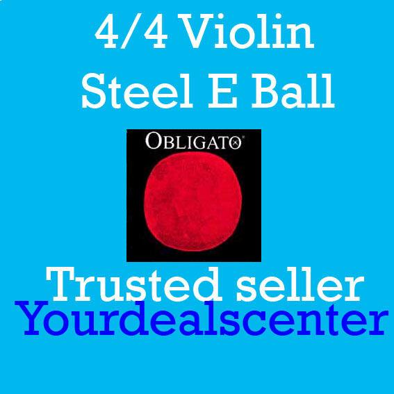 Pirastro Obligato Violon Cordes Ensemble 4 4 Acier Boule Fin
