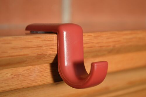 Stocking Holders 10 Pack Mantel Hook Red Stocking Hanger