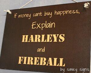 Motorcycles-and-Fireball-Cinnamon-Whiskey-Whisky-Bar-amp-Pub-Biker-Parts-Signs-Etc