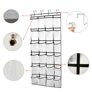 24-Pockets-Bag-Hanging-Shoe-Organizer-Large-Capacity-Tidy-Over-Door-Storage