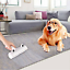 Cat Pet Hair Remover Chom Chom Roller Dog Lint Sticking 2way Roller W//ears US
