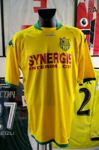 Maillot-jersey-maglia-camiseta-shirt-fc-Nantes-2007-2008-07-08-fcna-airness-XXL