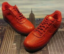 Nike Air Force 1 CMFT Lux Low University Red Size 15 Mid High 805300 600 New