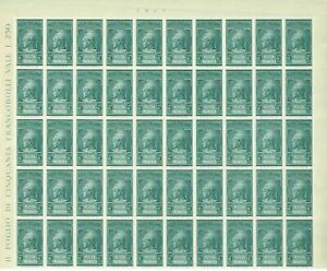 S31780) Italy 1947 MNH Mail Pneumatic L.5 Full not Folded