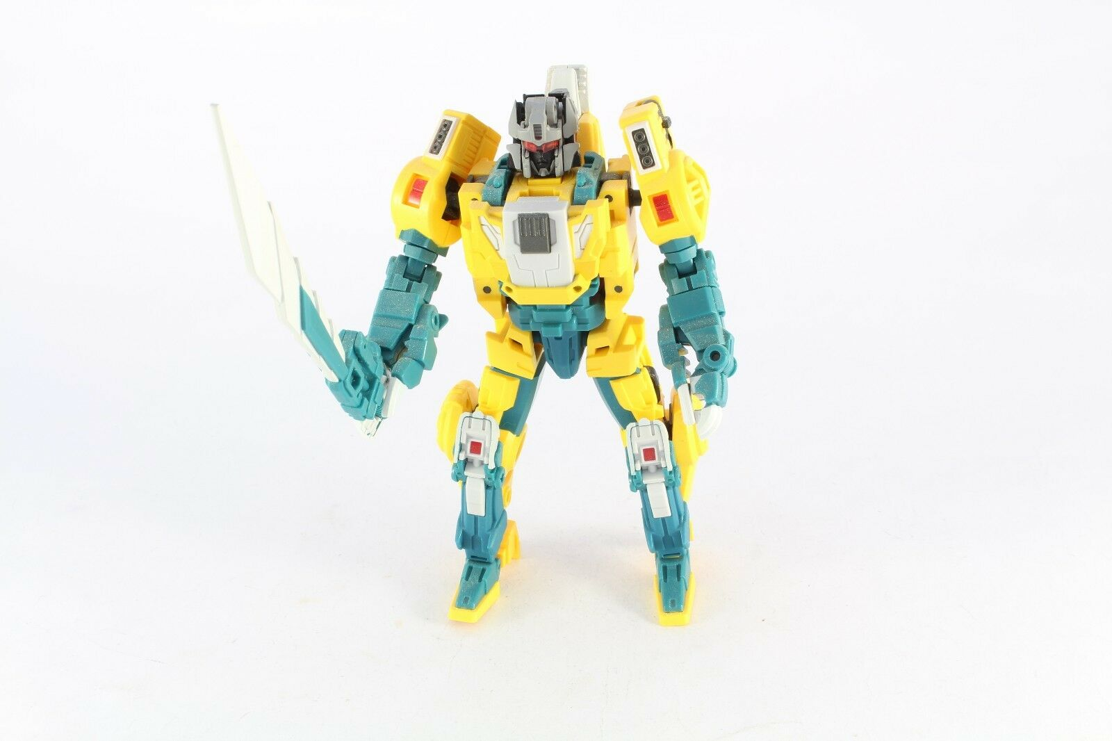 Transformers Fansproject Headmaster Function  X-02 Quad U  Weirdwolf