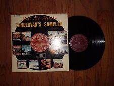"""VONDERVAN'S SAMPLER """"MEET THE ARTISTS"""" GOSPEL RECORD ALBUM; ZLP-586 LP; HI-FI"""