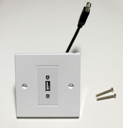 DIY Materials Electrical Fittings USB 2 0 Outlet Multi Media Modular