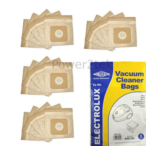 20 x E62 U62 Hoover Bags for ONN OV001 UK Stock