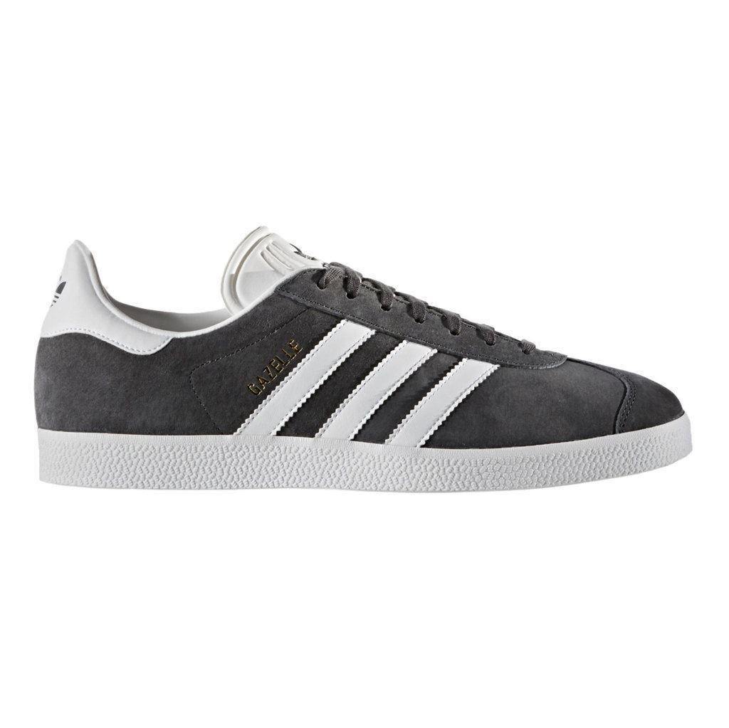 Adidas Gazelle Dark Grey Mens Trainers
