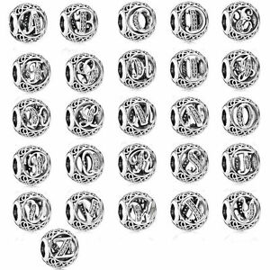 Clearance authentic pandora silver vintage for Pandora vintage letter charms