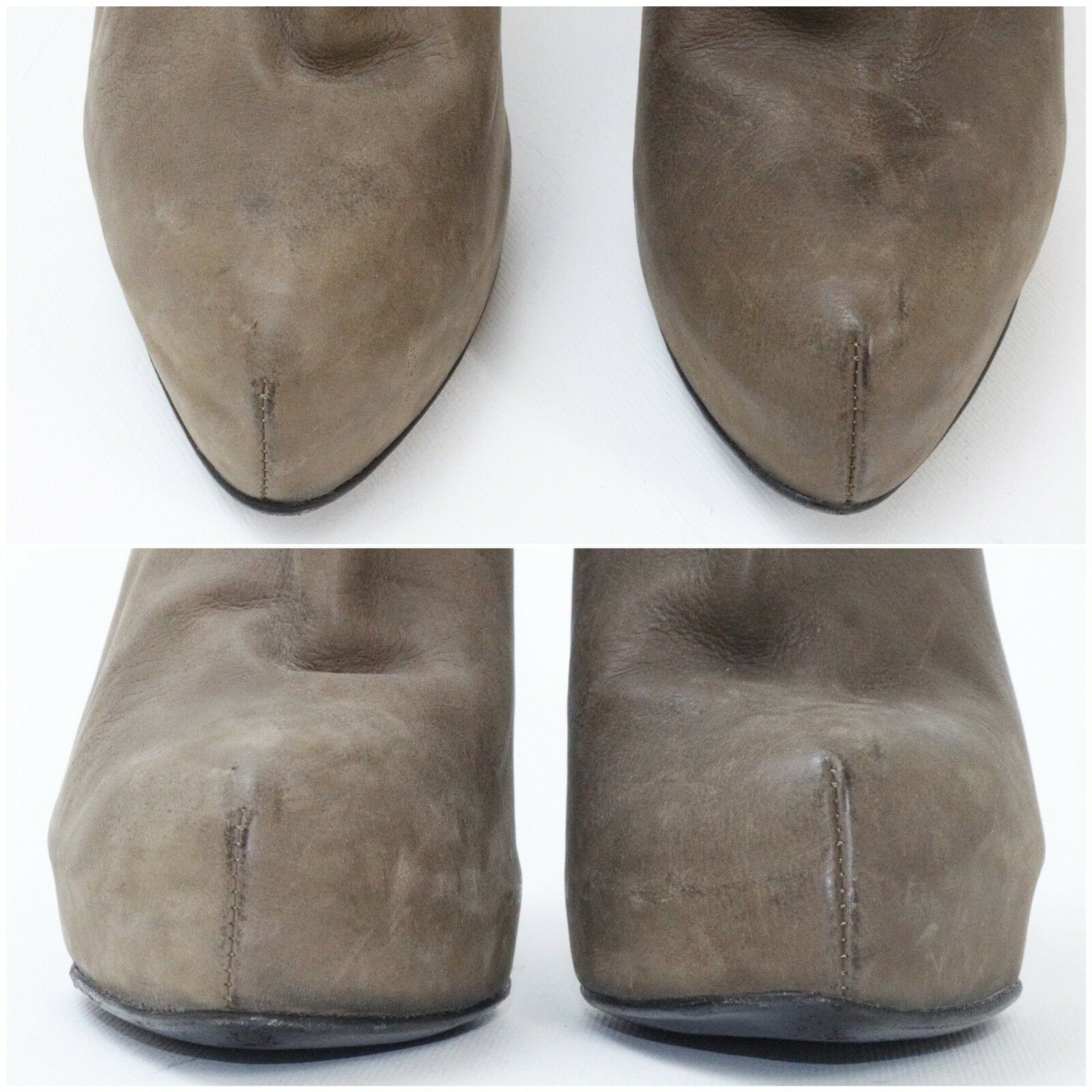 Haider Ackermann - Size Ankle 36 - Brown Ankle Size Boots Back Zipper - Made in Italy 9f82ae