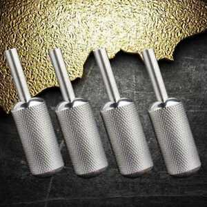 16mm-Stainless-steel-Griff-Grips-Rotary-Tattoo-Maschine-Gun-Tube-Motor-Zube-X9W9