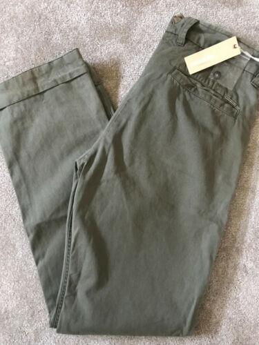 "DIESEL GREEN /""DD-LEG/"" DISTRESSED TROUSERS PANTS CHINO/'S NEW TAGS 29/"" /& 30/"""