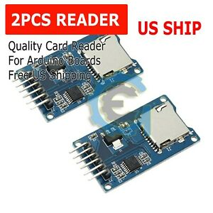 2pcs-Micro-SD-TF-Memory-Card-Reader-Module-with-SPI-interface-For-Arduino