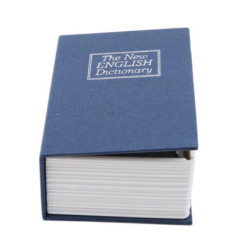 Safe Dictionary Hidden Book Diversion Secret Money Stash Lock Key Security Z