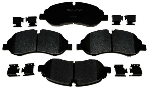 Disc Brake Pad Set-Semi-Metallic Front ACDelco Pro Brakes 17D1774MH
