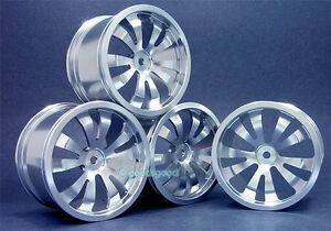 Aluminum Wheels Rim For T E maxx 1.5//2.5 Savage 21 Revo
