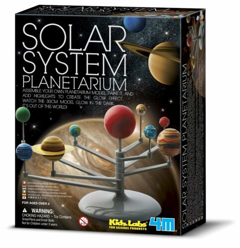 Kids Educational Solar System Planetarium Learning 10-Pc Set Wall Chart Age 8+