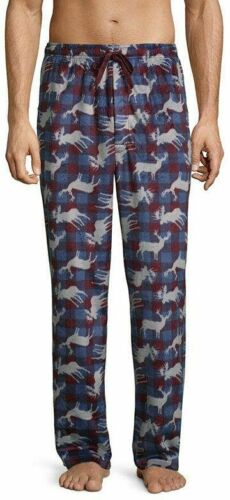 Stafford Mens Soft Microfleece Pajama Pants size S M L XL XXL NEW