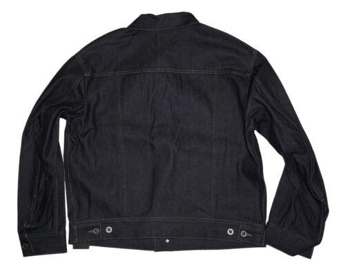 100 Jeset Gold Diesel Denim Authentic Size Oversized Jacket Black 46 5E5qr8