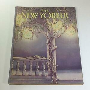 The-New-Yorker-June-29-1981-Full-Magazine-Theme-Cover-Jenni-Oliver