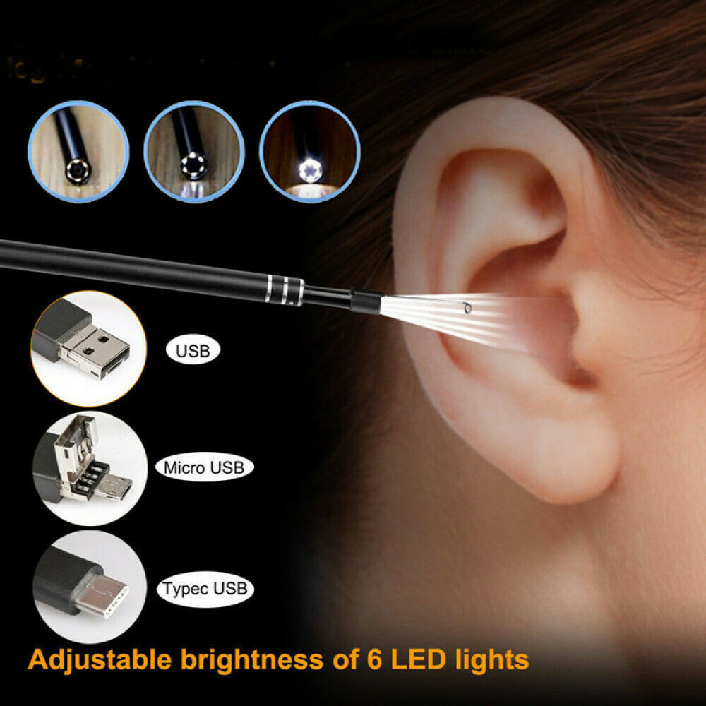 endoscope ear cleaner