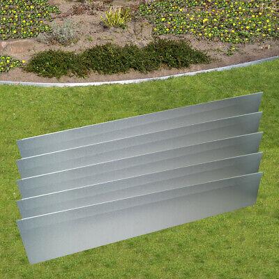 Rasenkante Metall Beeteinfassung Alu verzinkt Beet Umrandung Wurzelstop Mähkante