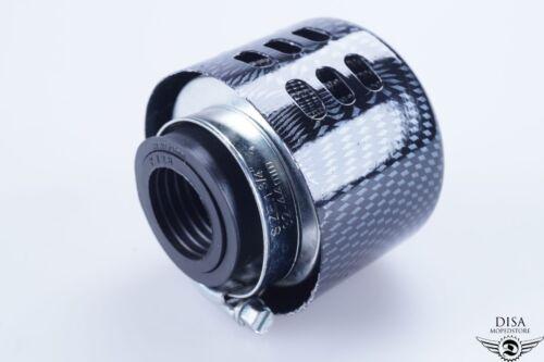 Roller Tuning Luftfilter 28 35 MM Anschluss Carbon Optik NEU *