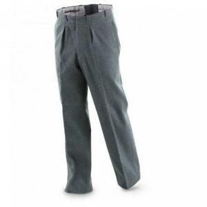 Swiss Army Wool pants f men   women. New non-issued military surplus ... b2dfc53e0