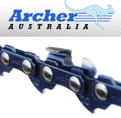 """2 X Archer Scie Chaînes Compatible bandq 14/"""" TRY1800CSA Tronçonneuse"""