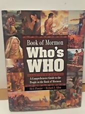 Book of Mormon Who's Who : A Comprehensive Guide to the People in the Book of Mormon by Ed J. Pinegar and Richard J. Allen (2007, Hardcover)