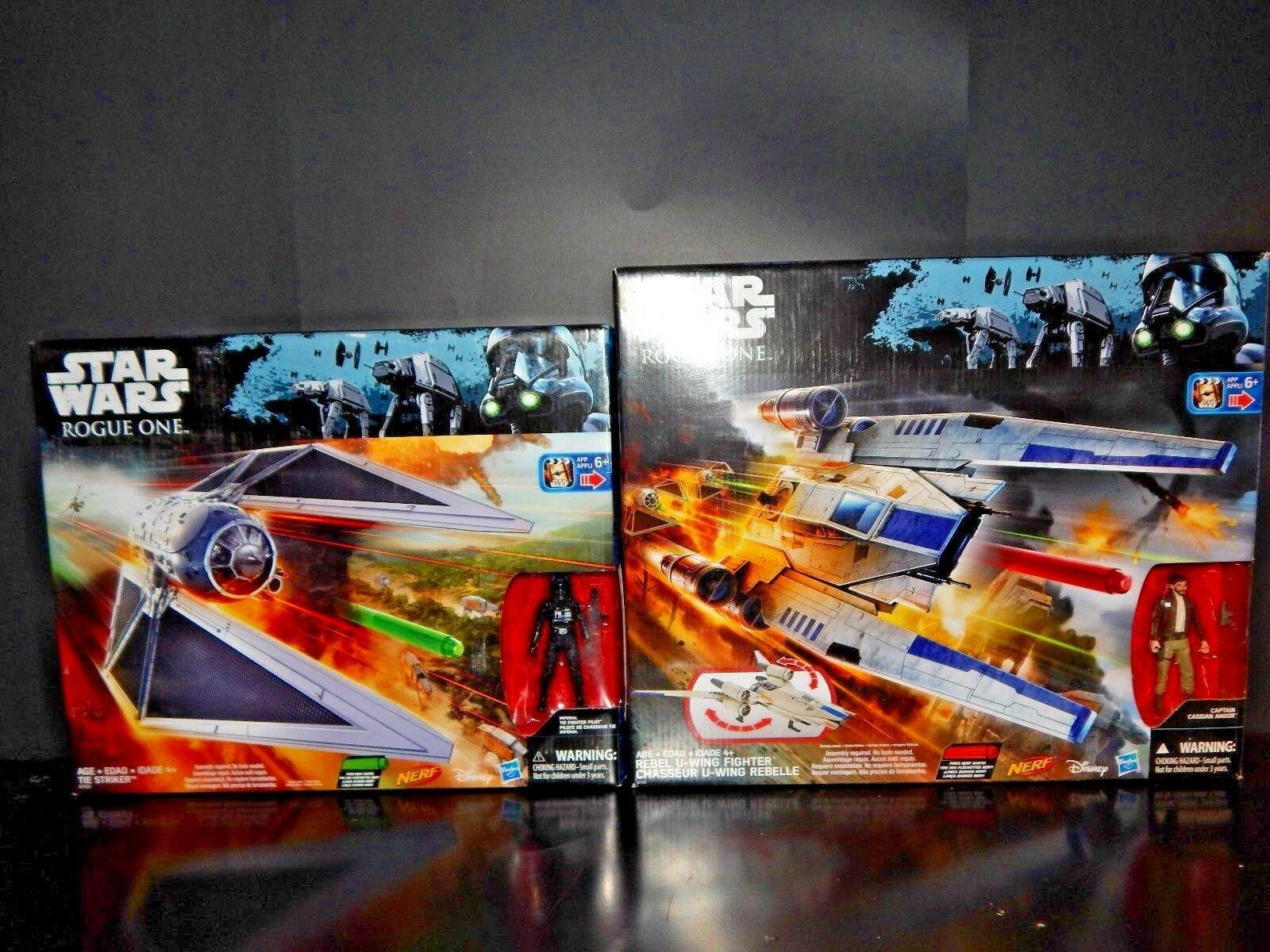 Star Wars Rogue one TIE Striker & U Wing Fighter Sealed