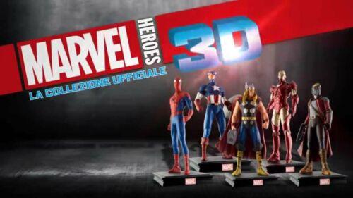 EXTRA uscite nuove CENTAURIA Panini Collezione MARVEL HEROES 3D
