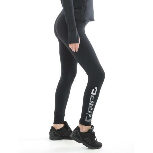 Ript Performance Femmes Métallique Jambe Imprimé Taille Haute formation Gym Pantalons XS-L