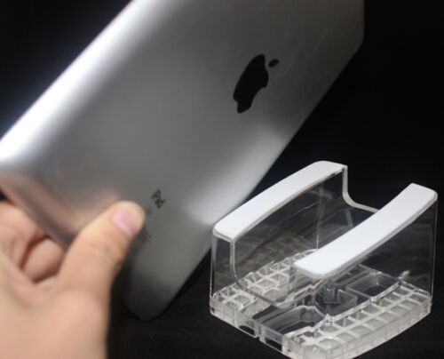 1x Clear iPad Display Stand Tablet PC exhibition Holder For Retail Shop Security