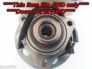 Fits Ssangyong Actyon I Kyron Rexton Front Hub Wheel Bearing With ABS