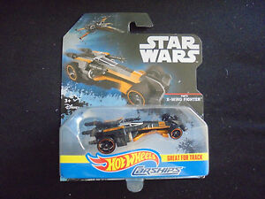 Hot Wheels Star Wars Die Cast Carships Poe's  X-Wing Fighter 2016 DPV36 Toy